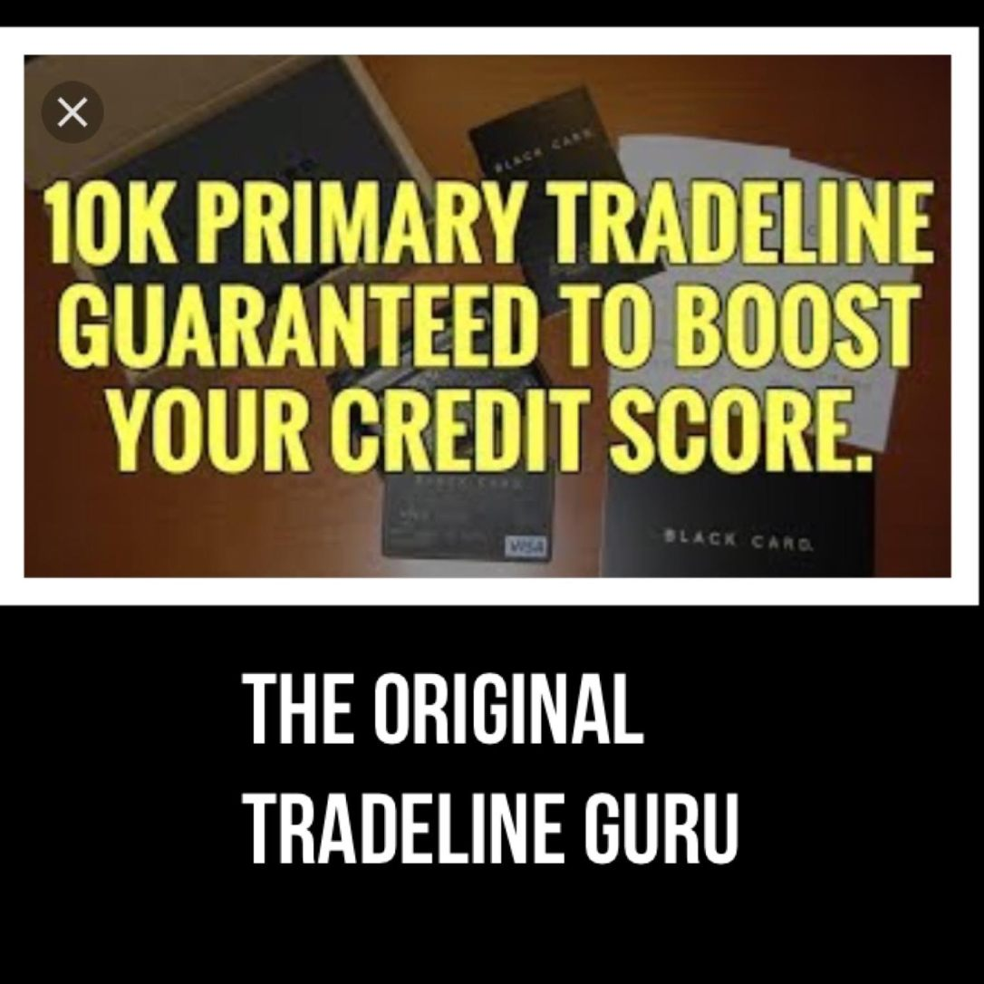 Exclusive new Primary Tradelines under $100 – MAKE MONEY